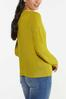 Plus Size Cutout Cardigan Sweater alternate view