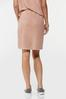 Plus Size Stretchy Faux Wrap Skirt alternate view