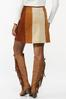 Colorblock Corduroy Mini Skirt alternate view