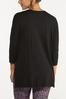 Plus Size Relaxed Raw Edge Top alternate view