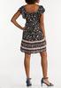 Plus Size Crepe Floral Dress alternate view