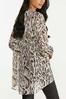 Plus Size Gilded Leopard Tunic alternate view