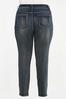 Plus Size Skinny Shape Enhancing Jeans alternate view