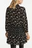 Plus Size Tiered Floral Tunic alternate view