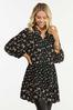 Plus Size Tiered Floral Tunic alt view