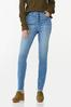Frayed Button Fly Jeans alt view