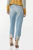 Curvy Destructed Ankle Jeans alternate view