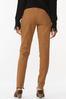 Distressed Brown Skinny Jeans alternate view