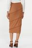 Plus Size Ribbed Pencil Skirt alternate view