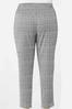 Plus Size Houndstooth Slim Pants alternate view