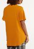Plus Size Crepe Cutout V- Neck Tunic alternate view
