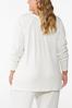 Plus Size Ribbed Lounge Top alternate view