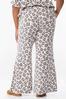 Plus Size Leopard Lounge Pants alternate view