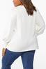 Plus Size Balloon Sleeve Sweater alternate view