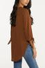 Plus Size Extreme High- Low Tunic alternate view