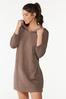 Hooded Sweatshirt Dress alt view
