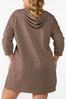 Plus Size Hooded Sweatshirt Dress alternate view