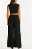 Plus Size Belted Jumpsuit alternate view