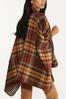 Houndstooth Plaid Reversible Wrap alternate view
