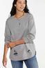 Gray Distressed Sweatshirt alt view