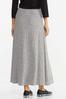 Ribbed Knit Maxi Skirt alternate view