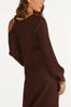 Plus Size Ribbed Cutout Shoulder Sweater alternate view