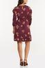 Plus Size Flounced Floral Dress alternate view