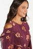 Plus Size Flounced Floral Dress alt view
