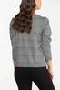 Houndstooth Puff Sleeve Top alternate view