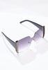 Rhinestone Detail Sunglasses alt view