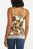Plus Size Floral Lace Cami alternate view