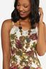 Plus Size Floral Lace Cami alt view