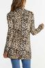 Plus Size Leopard Cardigan alternate view
