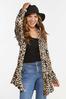 Plus Size Leopard Cardigan alt view