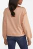 Plus Size Raw Edge Sweatshirt alternate view