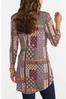 Plus Size High- Low Patchwork Tunic alternate view