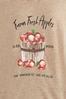 Plus Size Fresh Farm Apple Tee alt view