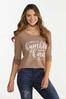 Plus Size Humble And Kind Waffle Top alt view