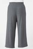 Plus Petite Gray Drawstring Pants alternate view