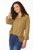 Frayed High- Low Tunic alt view