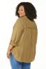 Plus Size Frayed High- Low Tunic alternate view