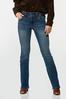 Petite Slimming Bootcut Jeans alt view
