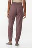 Wine French Terry Joggers alternate view