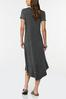 Plus Size Camo Star Shirt Dress alternate view