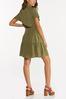 Olive Smocked Dress alternate view
