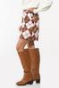 Argyle Mini Skirt alt view