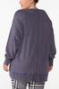 Plus Size Slouch Oversized Sweatshirt alternate view