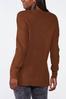 Plus Size Cutout Tunic Sweater alternate view
