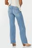 Petite Distressed Wide Leg Jeans alternate view
