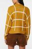 Golden Check Cardigan Sweater alternate view
